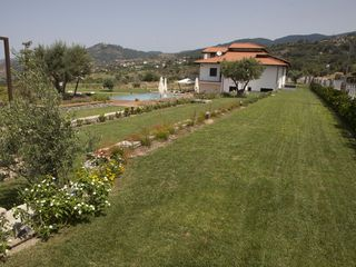 Fuscaldo villa photo - View from secondary gate/entrance