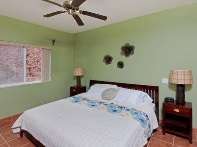 Playa Conchal condo rental - Master bedroom with King Bed