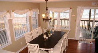 Emerald Isle cottage photo - Large dining area where you can gather