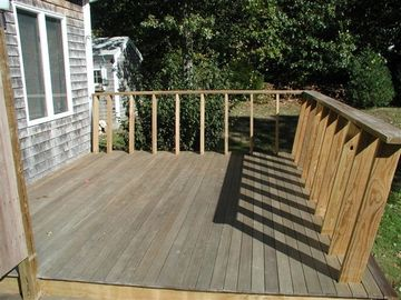 Exterior - Master BR Deck & Outdoor Shwr (to left)