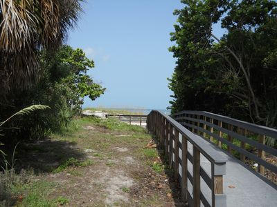 Clearwater Beach house rental - Beach Access Located 75 yards from front door