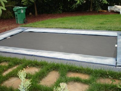 In Ground Trampoline -