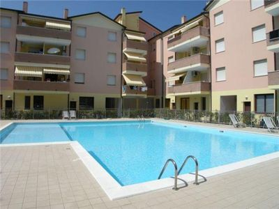 Apartment for 4 people, with swimming pool, in Rosolina