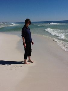 Fabulous Beach to Walk and Enjoy at Pelican Resort in Destin
