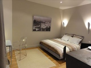 8th Arrondissement Champs Elysees apartment photo - overview with King size bed