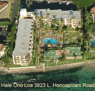 Honokowai condo rental - Hale Ono Loa/Direct ocean front building