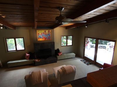 San Diego house rental - Lower living room