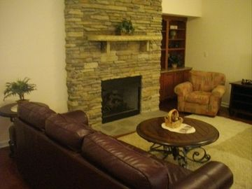 Closer look at family room