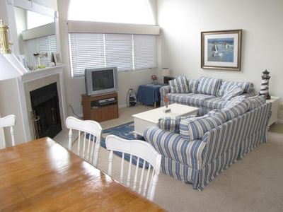 Brewster condo rental - Great open living space.