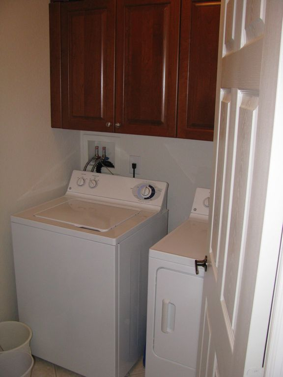 Private laundry room