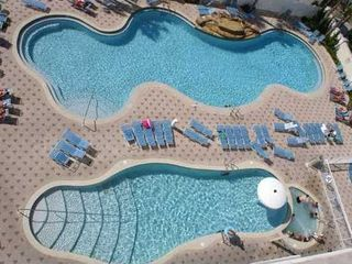 Majestic Beach Towers condo photo - View of 2 of the 6 Pools