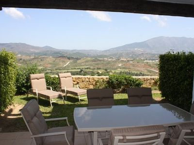 La Cala de Mijas house rental - Patio and private garden