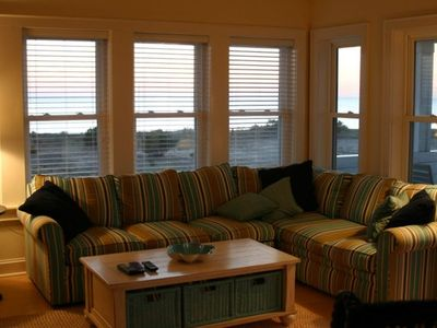 Rodanthe house rental - The Upstairs Family Room