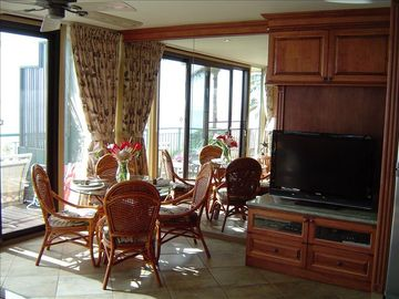 Dinning area of the living room