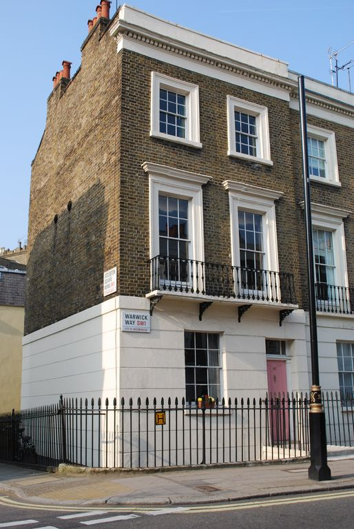 Central London Townhouse Convenient Homeaway Pimlico