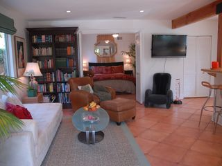 Santa Barbara house photo - Living room and bedroom.