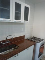 Ipanema apartment photo - Marble countertops , oven / stove and nice kitchen cabinets