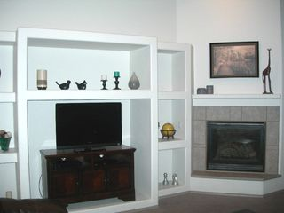 Flagstaff house photo - Greatroom with TV, DVD, gas fire place and games