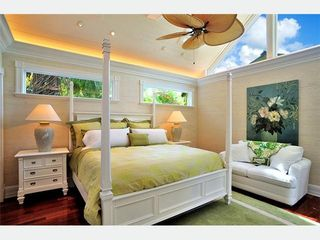Key West house photo - Master Bedroom 4: extravagant & beautiful, with large transoms & overhea