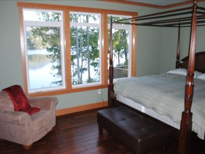 Master Bedroom with Canal view