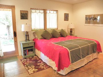 Taos condo rental - Sleep or snuggle in this top of the line king bed