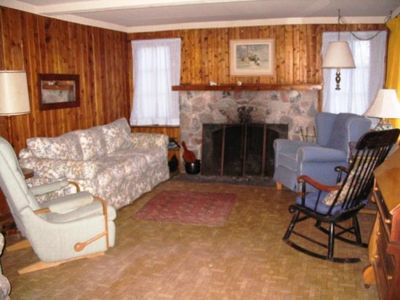 Beulah cottage rental - Living Room
