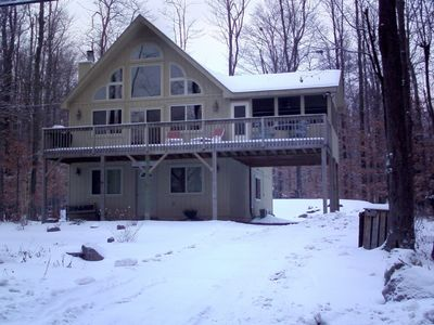 Lovely and spacious 3 floors 2 living areas chalet