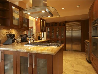 Gourmet Kitchen with Sub Zero and All Appliances