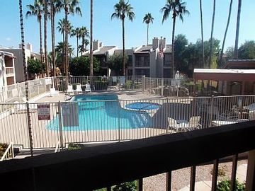 East Mesa condo rental - The view from your patio