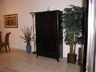 Living Area - Mahogany TV Cabinet