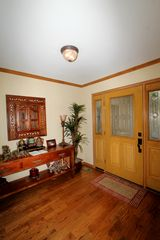 Hot Springs Village house photo - Beautiful hardwood floors in the foyer
