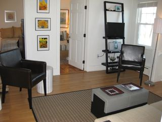 Living room - access to Master and Twin Beds left - Provincetown condo vacation rental photo
