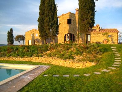 Montalcino villa rental - Swimming pool