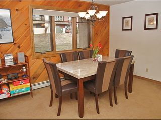 Steamboat Springs condo photo - Formal Dining for 6, Stereo, Board Games