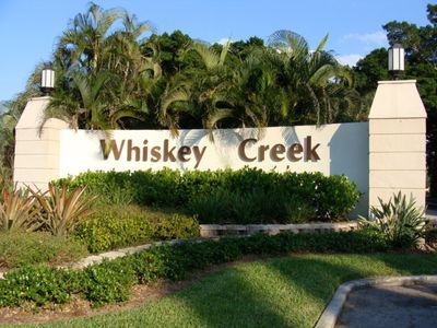 Whiskey Creek is a Deed Restricted Neighbourhood with 24/7 Security