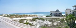 Cape San Blas house photo - Panoramic view from the deck