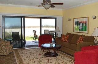 Perdido Key condo photo - Ground Floor Unit! WALK DIRECTLY FROM PORCH TO BEACH BOARDWALK!!