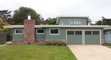 Pacific Grove house rental - Remodeled home in the Beach Tract area of Pacific Grove with Bocce Ball Court!