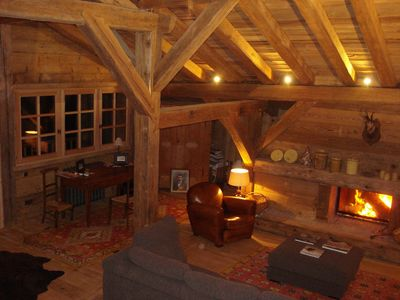 BEAUTIFUL OLD RENOVATED CHALET FOR RENT MEGEVE SKI AREA