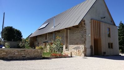 Ecological group cottage in Bresse Bourguignonne