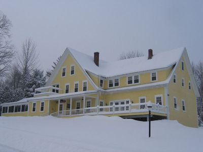 Whitefield farmhouse rental - Winter at Kimball Hill Inn