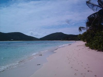 Flamenco Beach. Crowded as usual. Culebra has 10 secluded beaches for enjoyment.