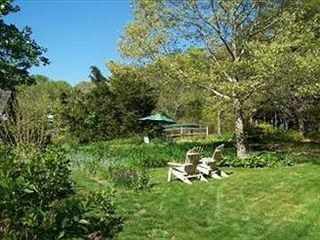 Brewster house photo - Beautiful Backyard with lush landscaping and privacy!