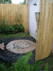Kihei cottage photo - Outdoor after the beach shower area w/foot wash