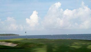Daufuskie Island villa photo - Melrose Golf Course (last 3 holes on the ocean), looking across to Hilton Head