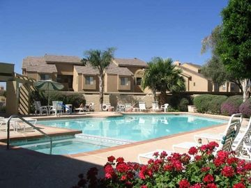 McCormick Ranch Scottsdale condo rental - Heated Resort Community Pool just a few steps awy!
