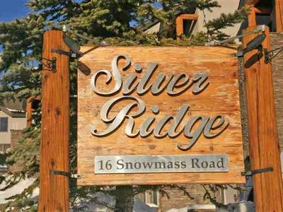 Entrance to Silver Ridge