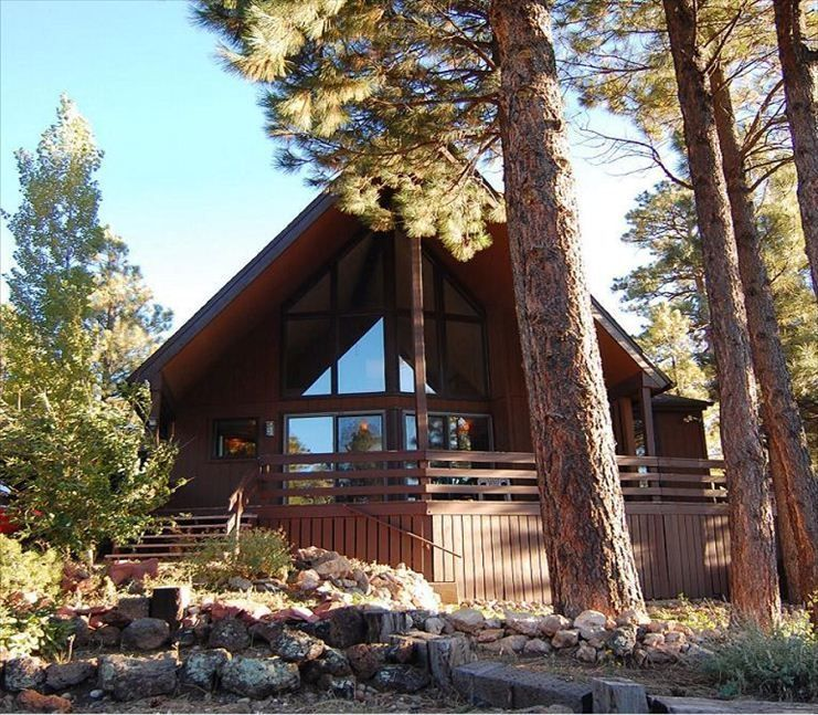 Come enjoy the beautiful ridgecrest chalet - Small log houses dream vacations wild ...