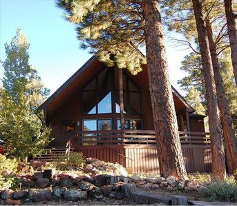 Save 35 nt through june 25 vacation dream vrbo for Az cabin rentals with hot tub