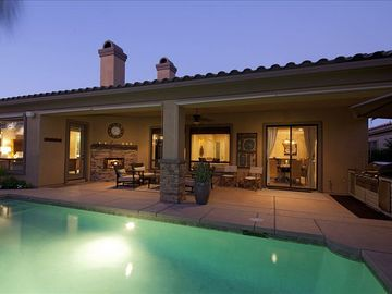 Rancho Mirage house rental - Beautiful nights in the desert!